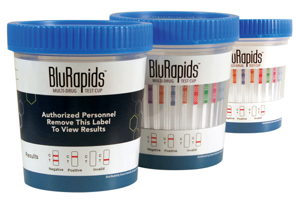 BluRapids Multi-Drug Test Cup