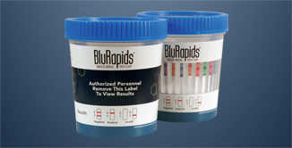 BluRapids Drug Test Cups