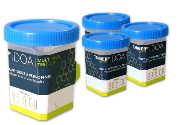 Tanner Scientific DOA Multi-Drug Test Cup