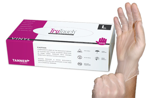 TruTouch Vinyl Exam Gloves